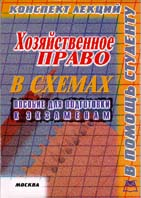 Хозяйственное право в схемах (конспект лекций, пособие для подготовки к экзаменам)  Платонов Д.И. купить