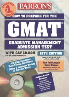 How to Prepare for the GMAT with CD-ROM 
