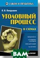 Уголовный процесс в схемах  В. Вандышев купить