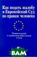 Как подать жалобу в Европейский Суд по правам человека  В. А .Карташкин купить