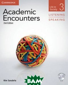 Academic Encounters 3. Listening and Speaking: Life in Society. Student`s Book (+ DVD)
