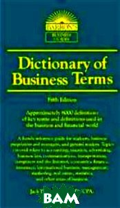 Dictionary of Business and Economic Terms