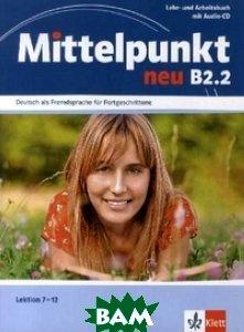 Mittelpunkt Neu Zweibandig B2. 2. Lehr- Und Arbeitsbuch (+ Audio CD)