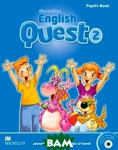 English Quest 2. Pupil`s Book (+ CD-ROM)
