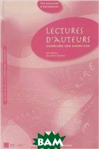 Lectures d`Auteurs - Corriges - Nouvelle Couverture