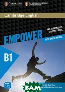 Cambridge English Empower Pre-intermediate Student`s Book with Online Assessment and Practice, and Online Workbook