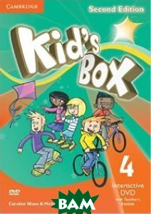 Kid`s Box Level 4 Interactive DVD (NTSC) with Teacher`s Booklet (+ DVD)