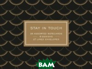 Modern Gold Greeting Assortment Postcards
