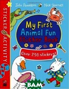 My First Animal Fun Sticker Book: Over 250 Stickers!
