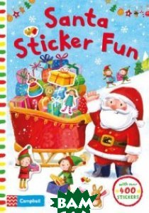 Santa Sticker Fun