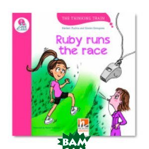 Ruby runs the race. Level E