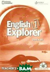 English Explorer 1. Teachers Book with Class Audio CD (+ Audio CD)