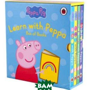 Learn with Peppa Pig (4-book slipcase) (количество томов: 4)
