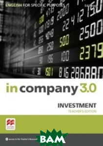 In Company 3. 0. ESP. Investment. Teacher`s Book + Webcode Pack