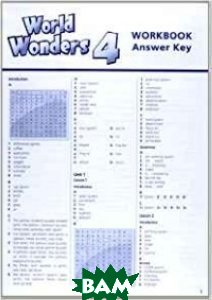World Wonders 4. Workbook with Answer Key, no CD