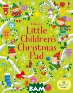Little Children`s Christmas Activity Pad