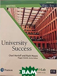 University Success. Writing. Advanced: Student Book with MyEnglishLab