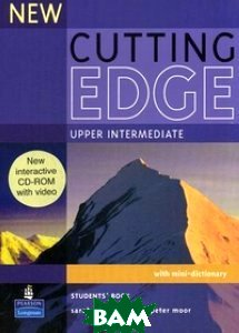 New Cutting Edge. Upper Intermediate. Student`s Book with mini-dictionary (+ CD-ROM)