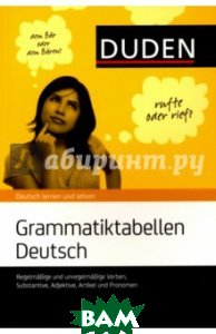 Grammatiktabellen Deutsch