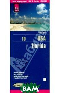 USA 10. Florida. Карта