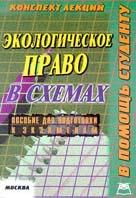 Экологическое право РФ Конспект лекций в схемах  Платонов Д.И. купить
