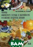 Таблицы химического состава и калорийности российских продуктов питания. Справочник  Под ред. Скурихина И.М. купить