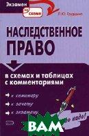 Наследственное право в таблицах и схемах с комментариями  Грудцына Л.Ю. купить