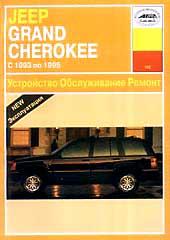 JEEP GRAND CHEROKEE 1993-1995 гг. Руководство по ремонту   купить