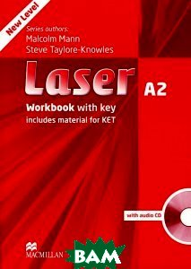 Laser A2: Workbook with Key (+ Audio CD)