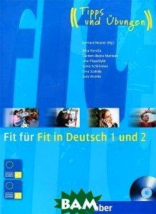 Fit fr Fit in Deutsch 1 + 2, Buch + CD