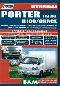 Hyundai Porter, Н 1001 / Grace. Модели с бензиновым и дизельными двигателями. Руководство по ремонту и техническому обслуживанию