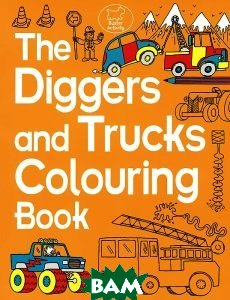 The Diggers and Trucks Colouring Book   купить