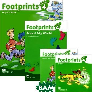 Footprints 4: Pupil`s Book Pack (+ CD and CD-ROM) (+ CD-ROM)