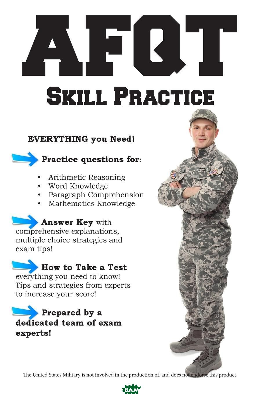 AFQT Skill Practice. Armed Forces Qualification Test Practice Questions