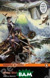 Купить Moby Dick (+ Audio CD), Pearson, Herman Melville, 9781408278093