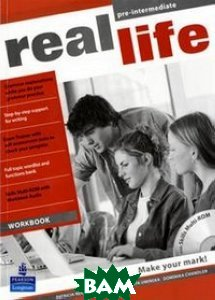 Купить Real Life. Global Pre-Intermediate. Workbook (+ CD-ROM), Pearson Education Limited, Dominika Chandler, Retta Dawson, Marta Uminska, Patricia Reilly, 978-1-4082-3515-7