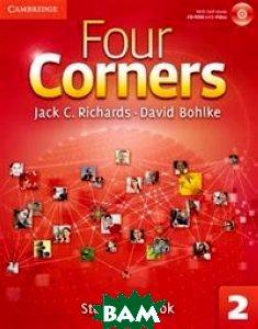 Купить Four Corners. Level 2. Student`s Book (+ CD-ROM), CAMBRIDGE UNIVERSITY PRESS, Richards Jack C., 978-0-521-12716-5