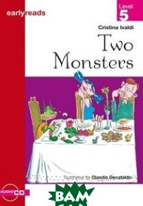 Купить Two Monsters (+ Audio CD), Cideb, Ivaldi Cristina, 978-88-775-4474-2