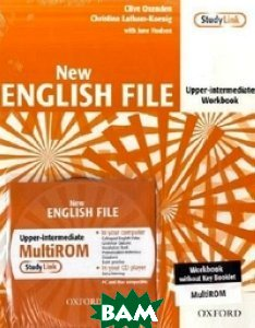 New English File: Upper-Intermediate: Workbook (+ CD-ROM)