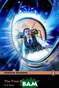 NEW Penguin Readers 4: Time Machine, Book /MP3 Pack