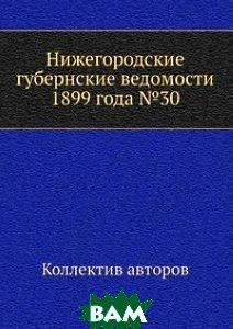Нижегородские губернские ведомости 1899 года 30
