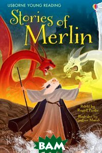 Купить The Stories of Merlin, Usborne, Punter Russell, 978-1-4095-3598-0