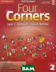 Купить Four Corners 2. Full Contact (+ CD-ROM), CAMBRIDGE UNIVERSITY PRESS, Richards Jack C., 978-0-521-12674-8