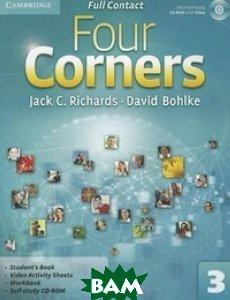 Купить Four Corners 3. Full Contact (+ CD-ROM), CAMBRIDGE UNIVERSITY PRESS, Richards Jack C., 978-0-521-12736-3