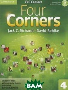 Купить Four Corners 4. Full Contact (+ CD-ROM), CAMBRIDGE UNIVERSITY PRESS, Richards Jack C., 978-0-521-12760-8