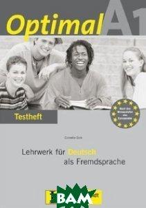 Купить Optimal A1. Testheft (+ Audio CD), KLETT, 978-3-12-606148-3
