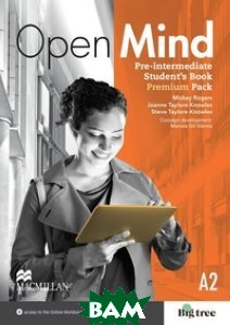 Taylore-Knowles Joanne / Open Mind British Edition Pre-Intermediate Level Student`s Book Pack Premium