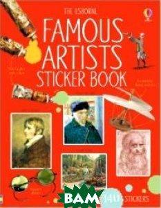Купить Famous Artists sticker book, Usborne, 978-1-4095-6407-2