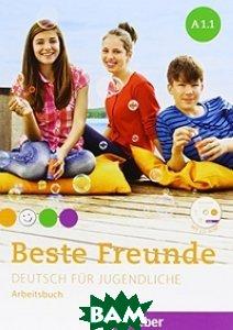 Купить Beste Freunde A1: Deutsch f& 252;r Jugendliche.Deutsch als Fremdsprache / Paket Arbeitsbuch A1/1 und A1/2. Broschiert (+ CD-ROM; количество томов: 2), Hueber, Bovermann Monika, 978-3-19-241051-2