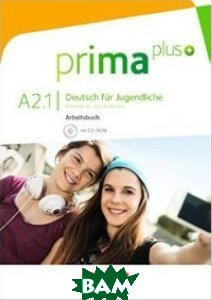 Prima plus: A2: Band 1 - Arbeitsbuch (+ DVD)